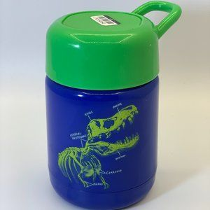 10oz Stainless Steel Dino Food Storage Container B